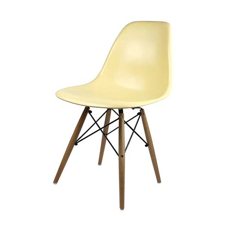 a eames style dining chair set six by ciel