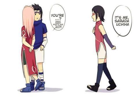 naruto dan hinata hot buat anak sarada meets her young parents anime amino