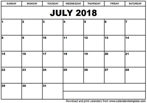 july calendar template calendar monthly printable