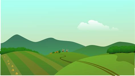 vector wallpaper alam free vector graphic landscape countryside fields free