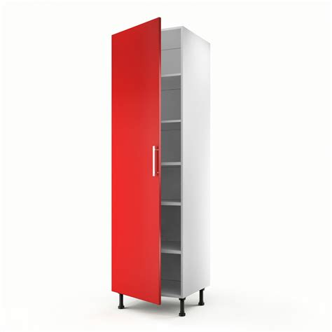 meuble cuisine 馥 60 meuble de cuisine colonne 1 porte d 233 lice h 200 x l