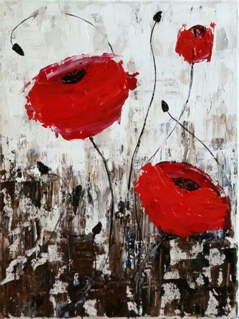 Renoir Basic Series 2 0 pallete knife poppies a painting with lesson 16x20