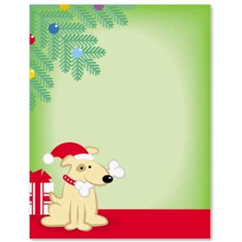 Tropical Themes For Parties - christmas puppy border papers paperdirect