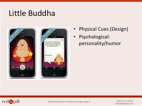 app layout behavior mobile app design for behavior change