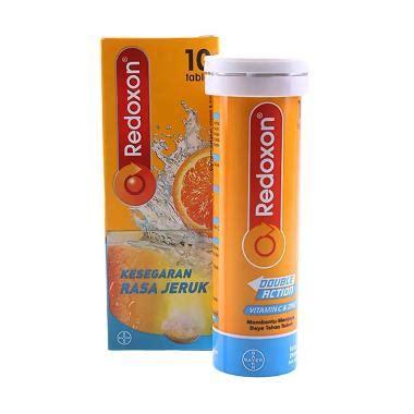 Diskon Redoxon Isi 10 Vitamin C Zinc jual bayer redoxon suplemen 10 tablet