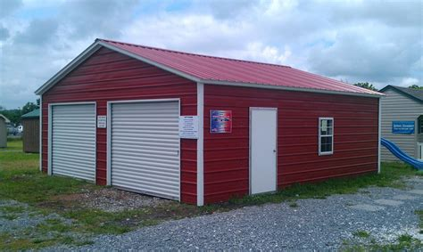 Sheds Barns And Outbuildings by Pine Creek 24x26 Steel Garage Shed Sheds Barn Barns In