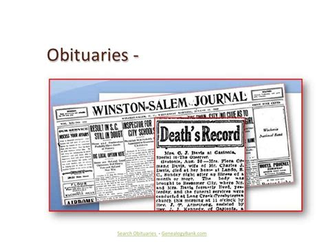 Records Obituaries How To Search For Deceased Family Members In Obituaries