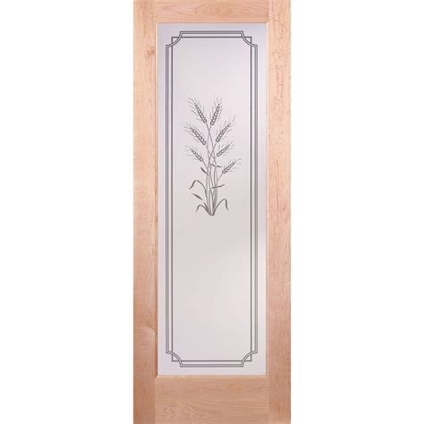 feather river doors 30 in x 80 in privacy smooth 1 lite feather river doors 30 in x 80 in 1 lite unfinished