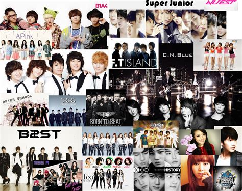 K Collagen by Image Gallery Kpop Collage