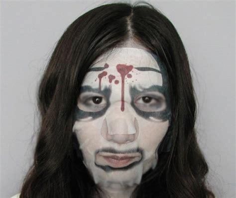Masker Unik masker wajah sadako vs kayako dari jepang yang unik kawaii japan