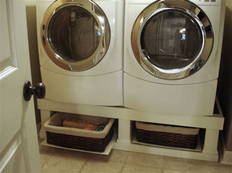 Washer And Dryer Pedestal Ideas 14 best images about front load washer pedestal ideas on pedestal laundry rooms and