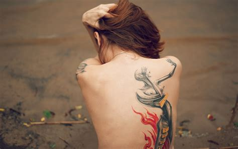 beautiful women with tattoos back tattoos for ohh my my