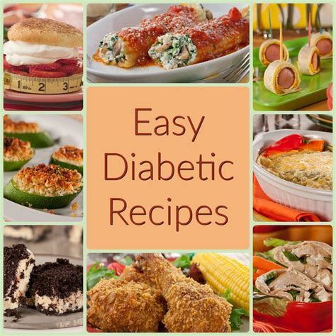 easy diabetic cookbook how to prepare easy recipes for