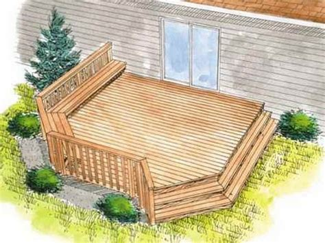 outdoor find the right house deck plans homeplans deck