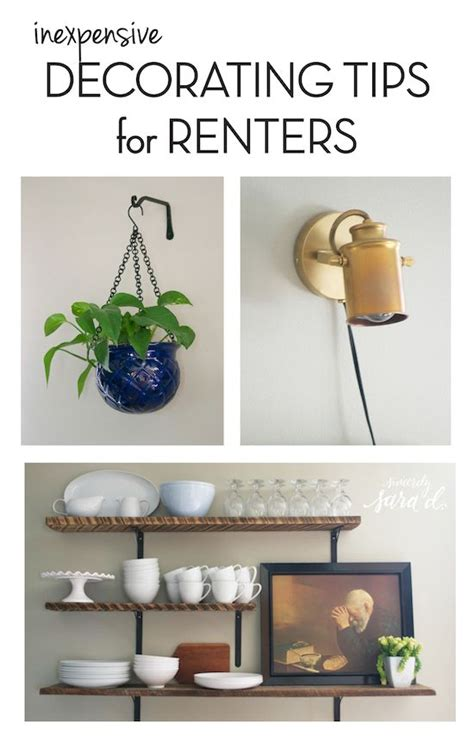 interior decorating ideas for renters inexpensive decorating tips for renters home deco
