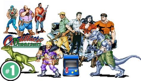 dinosaurs and cadillacs cadillacs and dinosaurs coop arcade cps 1 1993