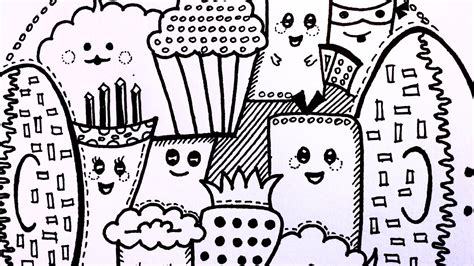 doodle for food doodle challenge food doodles doodle characters