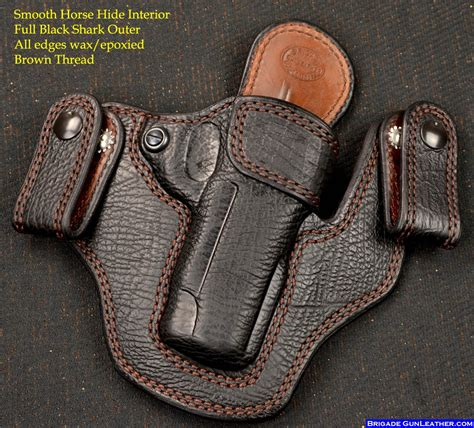 Handmade Gun Holsters - brigade custom holsters leather gun holsters concealed
