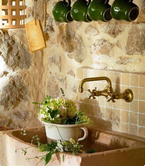 lavello cucina pietra i lavelli della cucina in pietra per un angolo cottura shabby