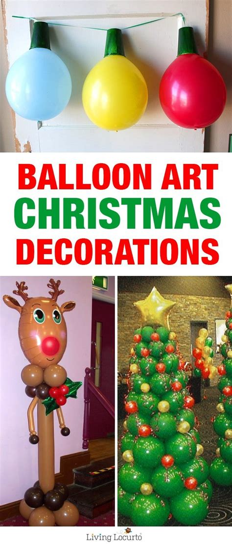 all outdoors christmas balloons balloon diy decorations