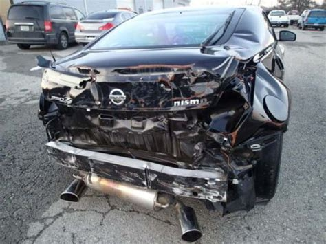 wrecked nissan 350z for sale purchase used 2008 nissan 350z nismo non salvage clear