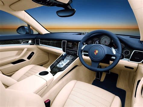 porsche panamera inside porsche car leasing by time4leasing