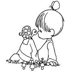 girl turtle coloring page cute turtle coloring pages small turtle with a little girl