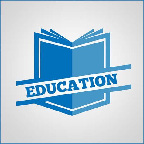 education logo education book logo vector free vector in adobe