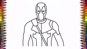 what to draw for how to draw deadpool step by step easy drawing