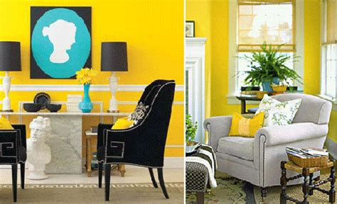 decorating with yellow modern interior decorating with yellow color cheerful interior decor ideas