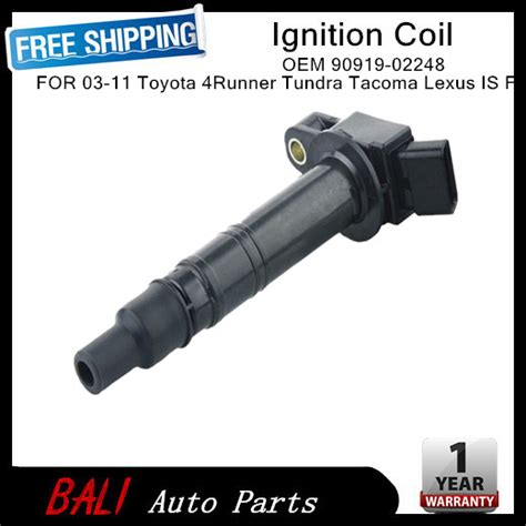 Ignition Coil Toyota Fortuner 90919 02248 10001441 toyota ignition coil 90919 02248 fit for tacoma fj cruiser 4runner jpg