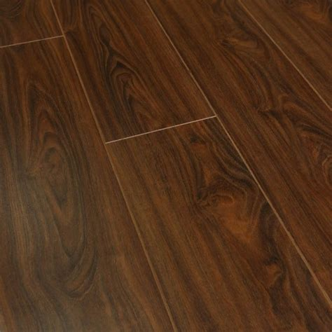10mm Laminate Flooring by Balento Quietwalk Whistler Walnut Wood 10mm Laminate Flooring