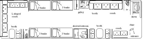 Tracer Rv Floor Plans 2003 prevost bus new and used buses motorhomes and rvs