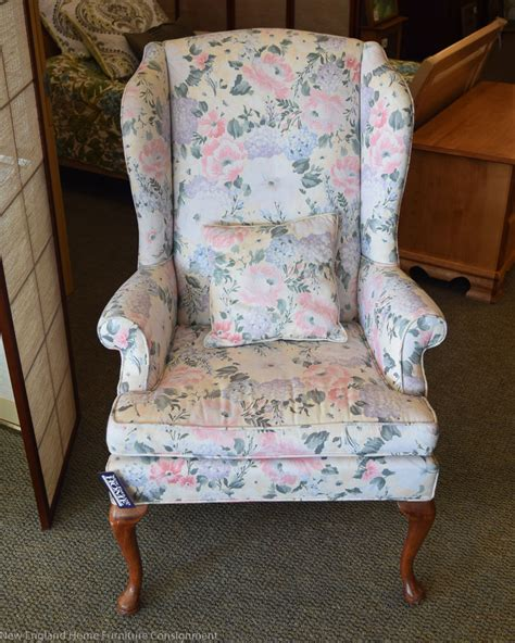 hitchcock floral wingback new home furniture