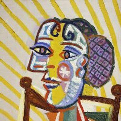 Painting Section by Picasso Picassoeyes