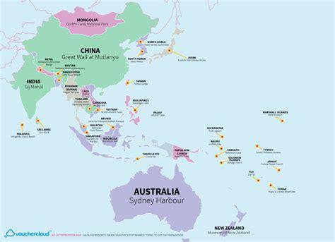tripadvisor map deze wereldkaart laat zien wat de topattracties alle