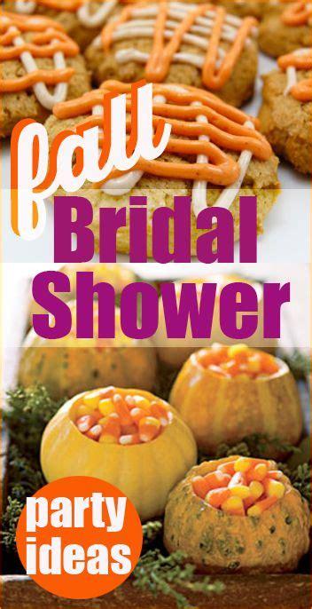 fall bridal shower ideas creative ideas for a bridal