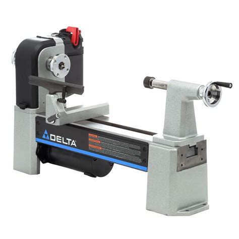 delta woodworking tools for sale delta 12 1 2 in midi lathe variable speed wood lathe 46