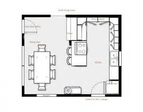 Kitchen Floor Plans Islands by Kitchen Floor Plans Brilliant Kitchen Floor Plans With