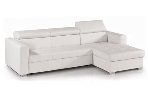 canapé coffre calgary angle droit avec coffre pu noir blanc vendu par