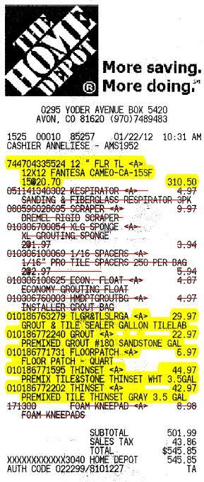 home depot receipt template eagle co official website use tax information