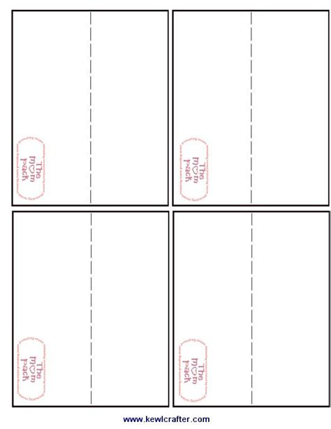 7 best images of printable treat bag template printable
