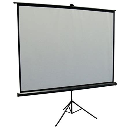 Layar Proyektor 84 Tripod Screen Projector 84 Inch Utk Benq Infocus new vivo 84 quot portable projector screen 84 inch diagonal projection hd 4 3 projection pull up