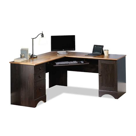 corner computer desk harbor view sauder corner computer desk rc willey