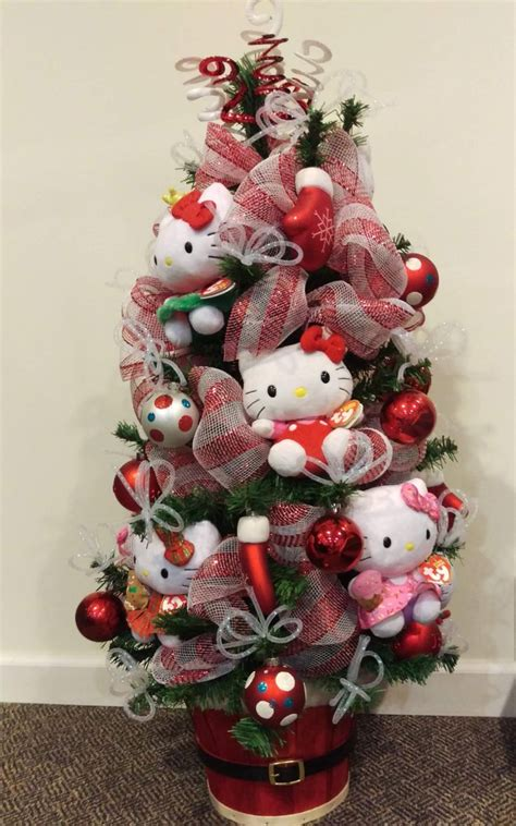 17 best ideas about hello kitty christmas tree on