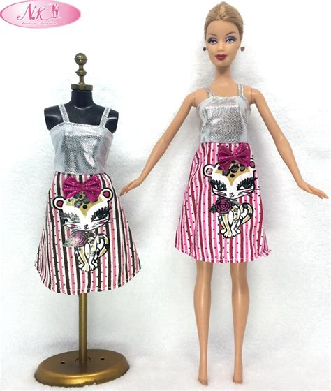 barbie gown design aliexpress com buy nk one set doll skirt cute pattern