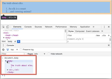 javascript tutorial dom nodes and tree dom tree
