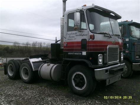 chevy semi truck 1976 chevy titan day cab semi truck truckingdepot