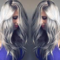 silver color hair stunning silver hair colors ideas