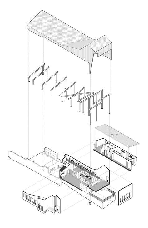 mountain building diagram architecture exploded axonometric diagram mountain
